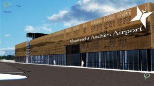 terminal vliegveld Maastricht