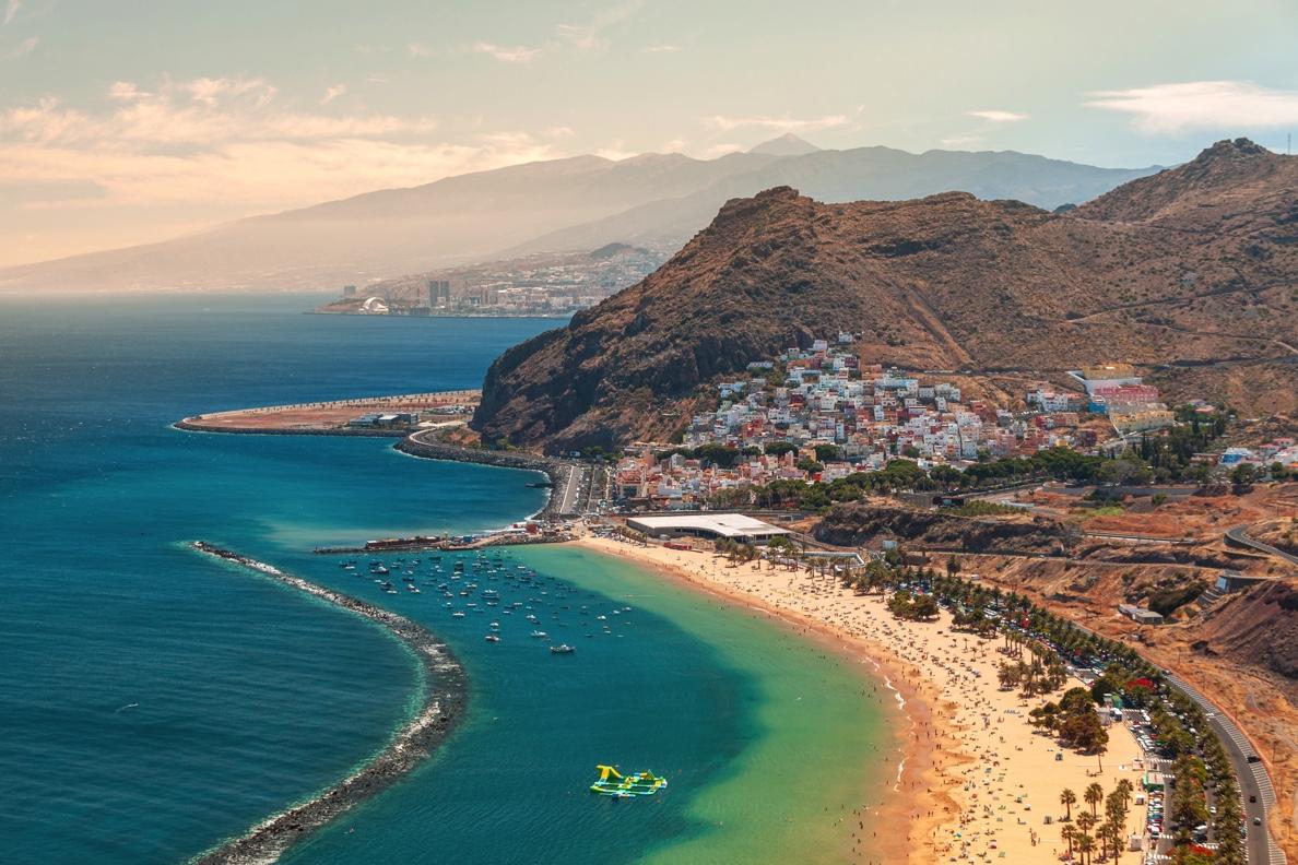 Tenerife vanaf Maastricht